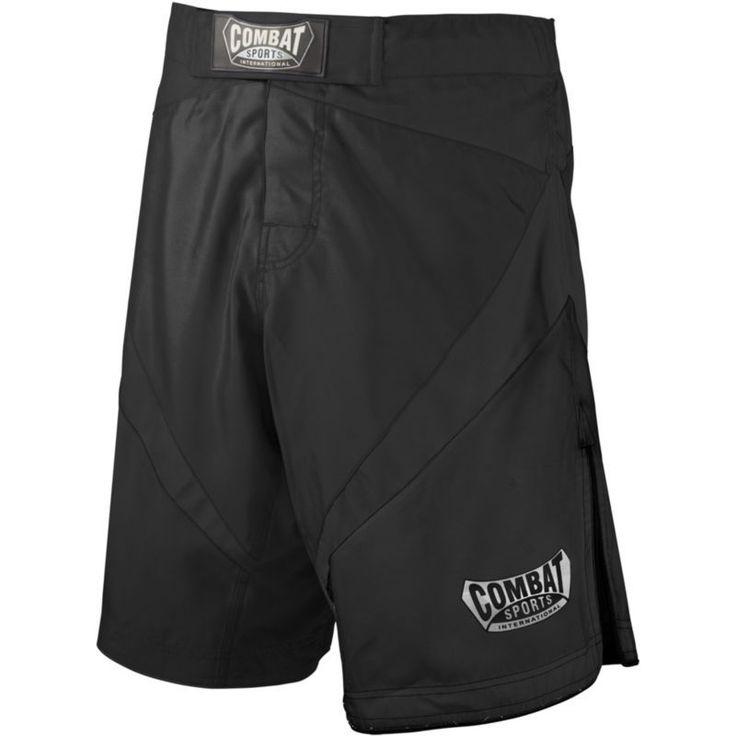Combat Sports Fight MMA Boardshorts, Men's, Size: 32, Black