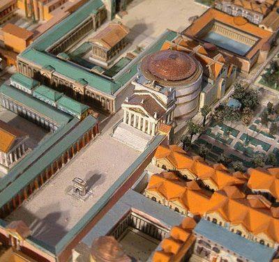 How the Pantheon looked like in the first century.