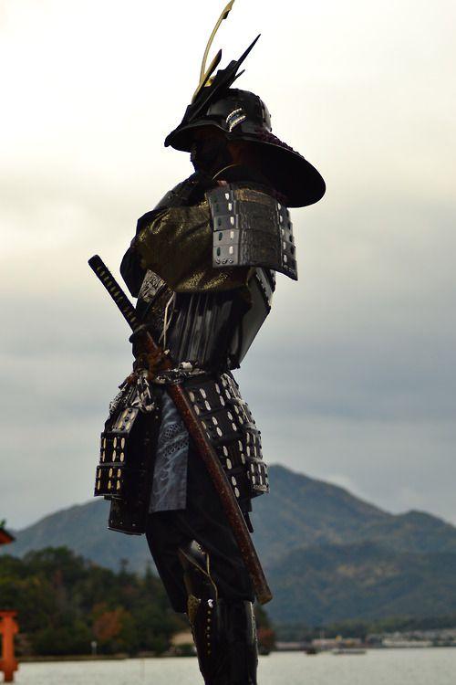 Samurai de perfil