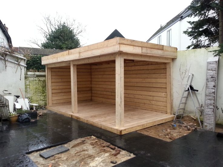 Image result for overkapping in kleine tuin