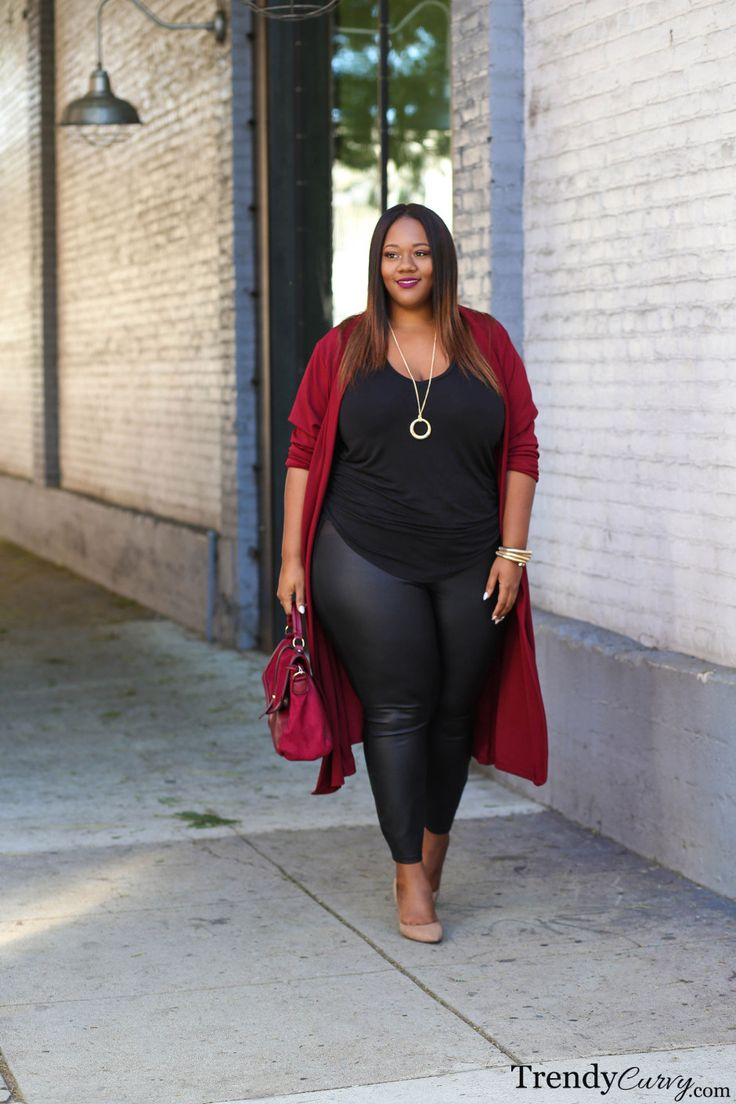 Plus Size Fashion for Women - Plus Size Fall Outfit Idea #Plussize #ootd