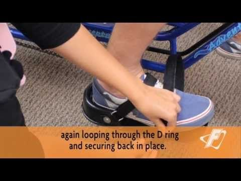 Rigid Footplate Adjustment Video for Freedom Concepts Adaptive Tricycles