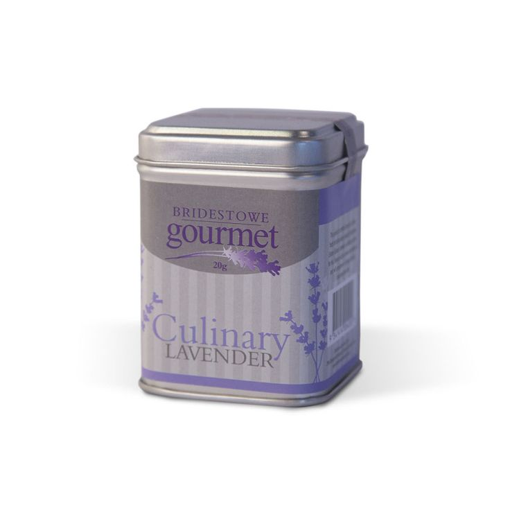 Bridestowe Gourmet Culinary Lavender $8.95 AUD -  Bridestowe Lavender Estate's finest quality buds from our specially refined strain of culinary lavender. Perfect to use either whole or infused into desserts, baked goods, condiments and drinks.