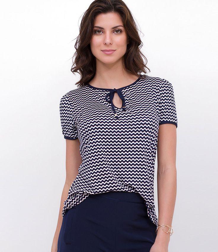 59724b9ad120 Modelos de Blusa Feminina | Tecido Fino | Viscose | Lisas & Estampadas