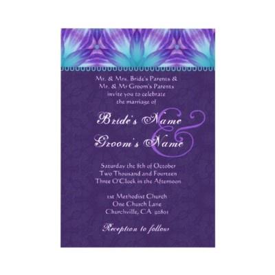 Purple And Blue Weding Invitations 010 - Purple And Blue Weding Invitations