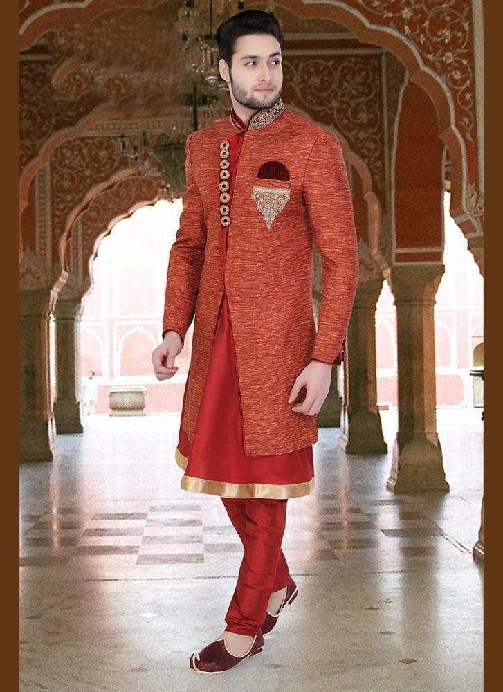 1333 best Mens Wear images on Pinterest | Wedding sherwani, Kurta ...