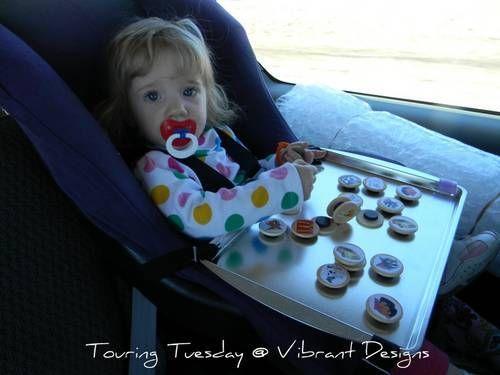 Car Seat Travel TrayRhiannon Wernert Candace Lambard Becky Dicharry Missy Freeman Lindsay Johnson Reed