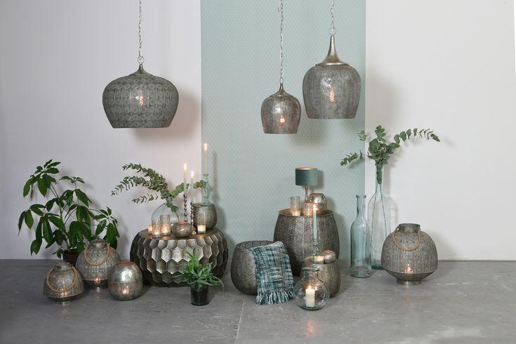 Oosterse sferen met deze minty Marrakesh invloeden.
