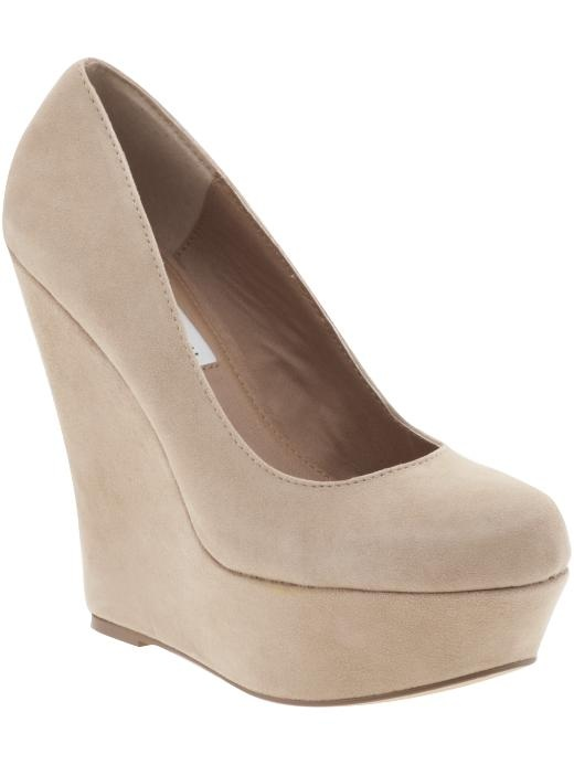 Pammy High Wedge Pumps (Purple Suede available)