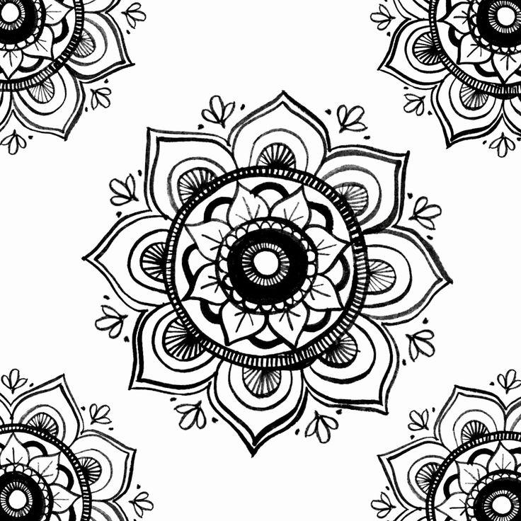 Mandala ink illustration . . . #illustration #illustrator #art #artist #sketch #drawing #mandala #yoga #yogi #pattern #blackandwhite #design #designer #meditation #graphicdesign