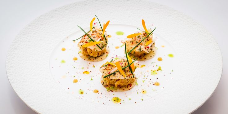 This light refreshing starter from Xavier Boyer is simple to make yet refined enough for an elegant dinner party. Fresh crab is complemented by the sweetness of honey and acidity of sherry vinegar.