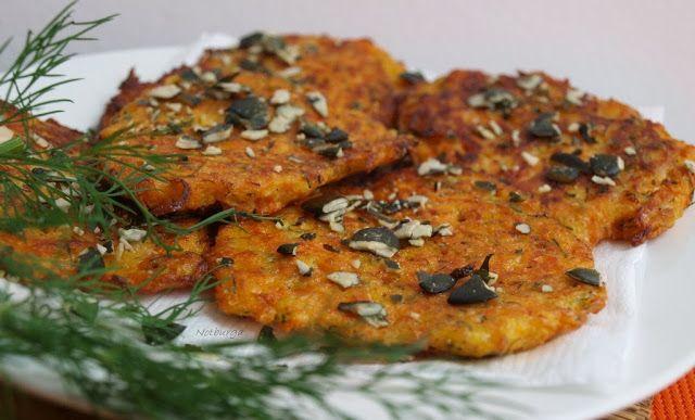 Notburga konyhája: Sütőtök lapcsánka/Kürbispuffer