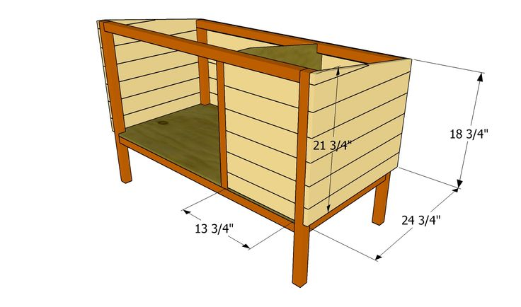 Easy to Make Rabbit Hutch plans | Outdoor Rabbit Hutch Plans