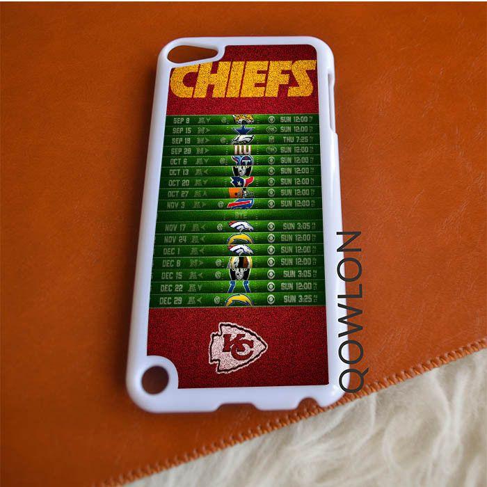 Kansas City Chiefs Schedule iPod Touch 5 | 5TH GEN Case