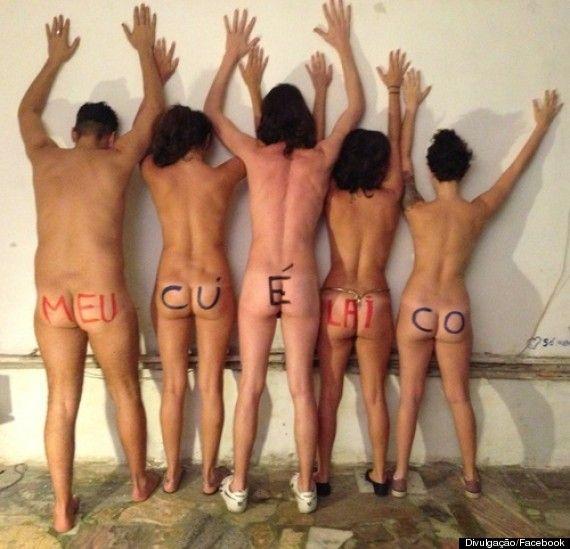 Peladaço na UnB: Estudantes tiram a roupa na universidade para protestar contra opressão à nudez no Campus