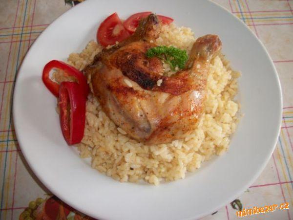 kuře s rýží z jednoho pekáče