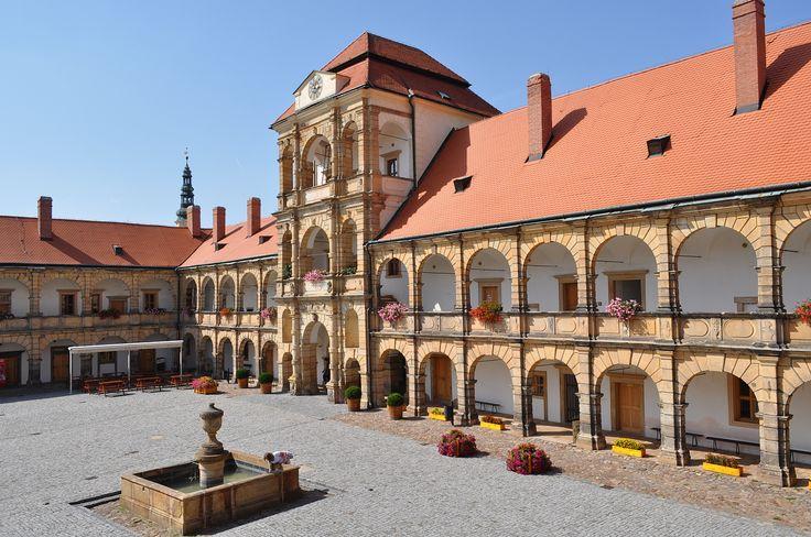 When you grow up next to a chateau, Moravská Třebová