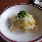ロシアレストラン キエフ - カプスタサラダ  キャベツの酢漬けサラダ