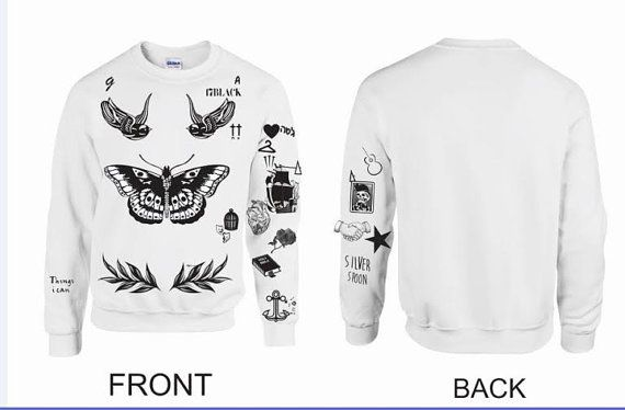 UPDATED VERSION Unisex Crewneck Sweatshirt Harry Styles ...