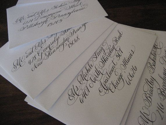 Best 25 Wedding Calligraphy Styles Ideas On Pinterest