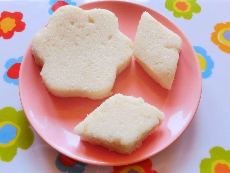 Rezeptinfo ab 7 Monate stuhlnormalisierend leicht süß Grießschnitten sind eine tolle Alternative zu Milchbrei und eignen sich prima beim ...