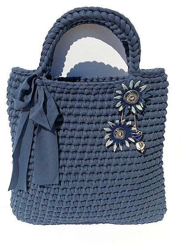Вязаные сумки: богатство фантазии дизайнеров - Ярмарка Мастеров - ручная работа…