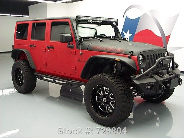 Jeep Wrangler Black Matte >> 2015 Matte Red and Black Customized Jeep Wrangler http://www.iseecars.com/used_cars-t5989-used ...