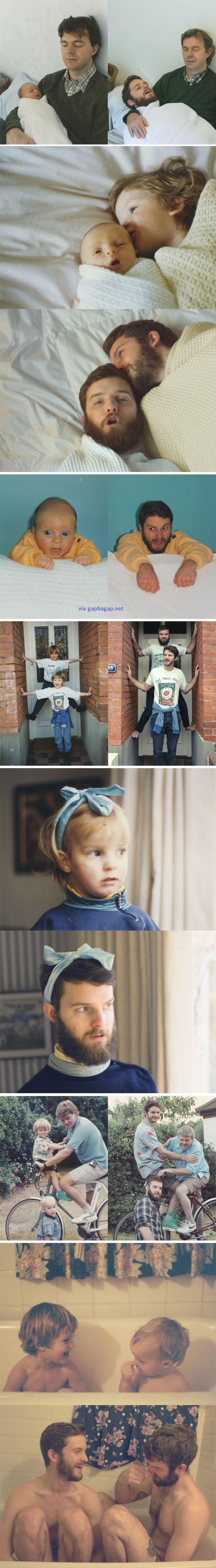 Funny Pictures Of Dad vs Son LOL