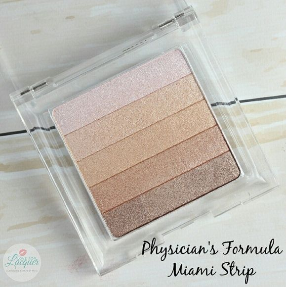 Physicians Formula Shimmer Strips Brand new, no box. Physicians Formula Shimmer Strips in Miami Strip/Healthy Glow Bronzer.   This product is really cool because it has 5 different color strips which can be mixed together for a customized color or used separately. It can be used as bronzer, blush or each individual shade can be used as an eyeshadow. It has a great texture and blends seamlessly. Very nice product! It's also great to keep in your purse for touch-ups on the go since it can be…