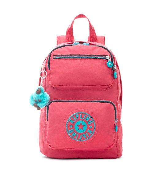 Kipling School Backpack Pink