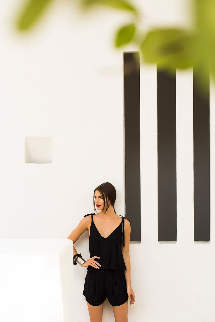 Black Romper / Shop Online at www.touche.com.co / Touche Swimwear Collection / Summer / Hailey Outland