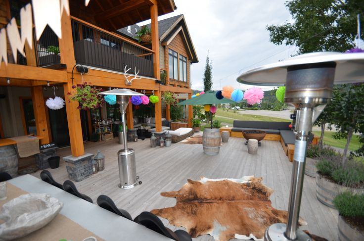 Beautiful Calgary Deck - # Best party deck ever