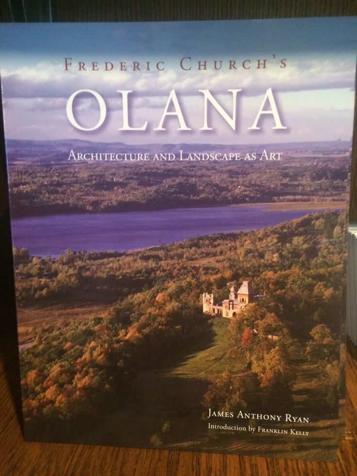 The classic overview of Olana by Jim Ryan, Olana's former site manager.