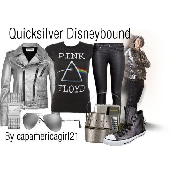 Quicksilver Disneybound by capamericagirl21