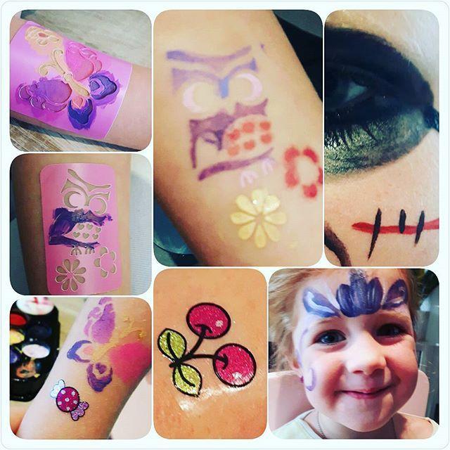 #mamachallenge2016 #beautydag #glitter Glitter en body-paint - MC2016 Beautydag https://blog.kreanimo.com/bodypaint-en-glitter-tatoeages/