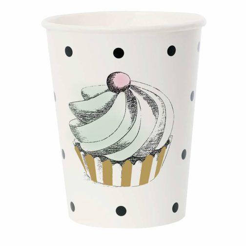 Vaso Topitos Cupcake