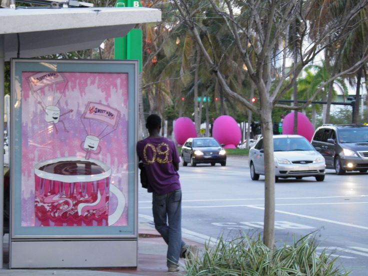 AD, somewhere in SoBe