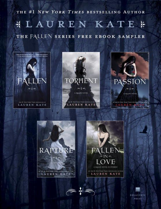 Fallen Series by Lauren Kate    These books are amazing,, so very amazing,, the storline and plot are amazing and once you've finished one book you Need to go directly onto the next to see what will happen next,, these NEED to be made into a movie