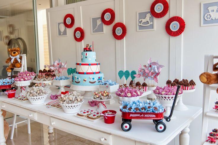 Festa de aniversário: Brinquedos Antigos!