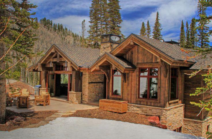 custom mountain home #exterior #customhome #inspo