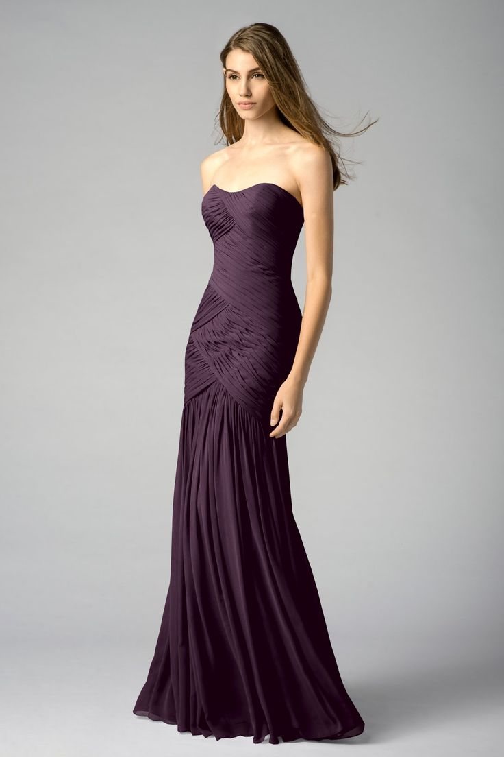 25 best watters bridesmaids dreses images on pinterest shop watters bridesmaid dress 7540 in crinkle chiffon at weddington way find the perfect made to order bridesmaid dresses for your bridal party in your ombrellifo Image collections
