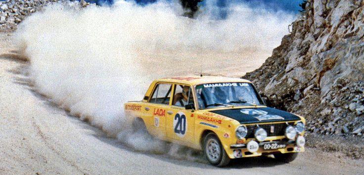 25th Acropolis Rally (1978) - Lada 21011 1600R