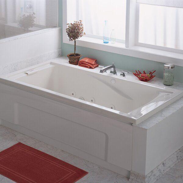 Evolution 72 X 36 Everclean Air Bathtub With Images Jetted Bath Tubs Whirlpool Tub Whirlpool Bathtub