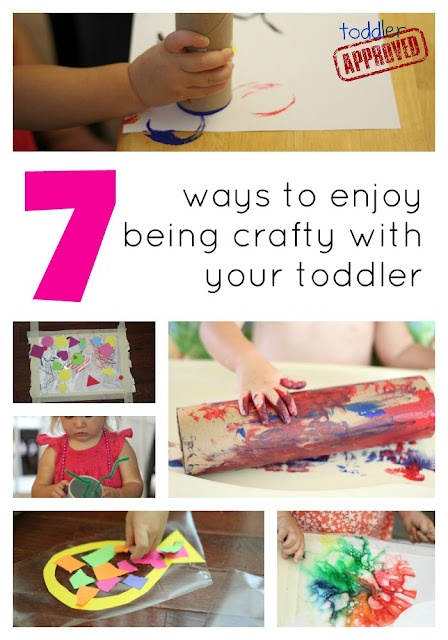Toddler Approved!: 7 Ways to Enjoy Being Crafty With Your Toddler
