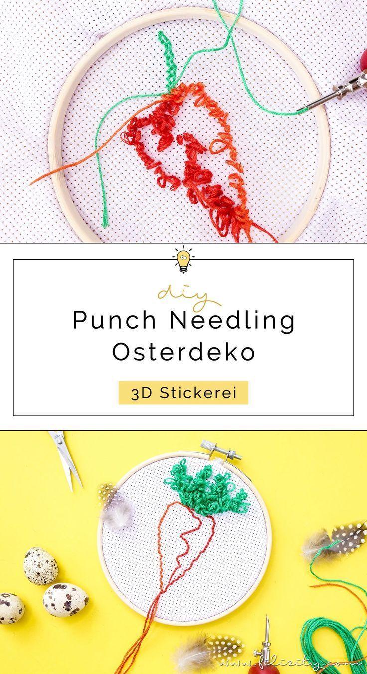 Punch Needling Kinderzimmerdeko Fur Ostern 5 Blogs 1000 Ideen