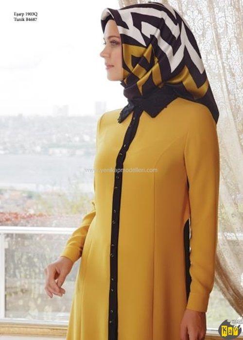 Boutique Armine Siyah Yakalı Tunik | 2015 | Kayra | Setrms | Armine | Zühre | Alvina