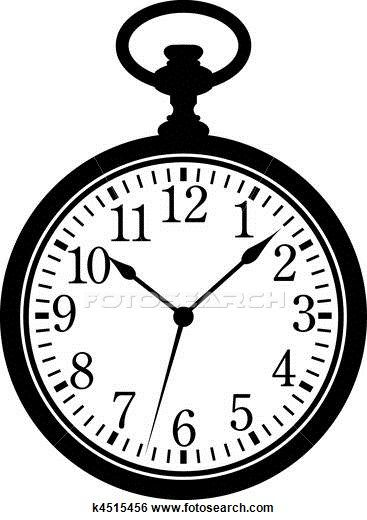 clipart of watches and clocks - photo #4