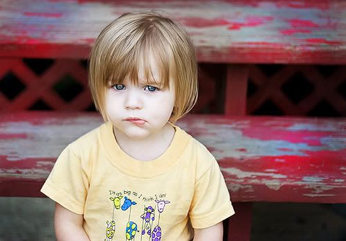 Toddler girl bob haircut - what I would like to do in an ideal world