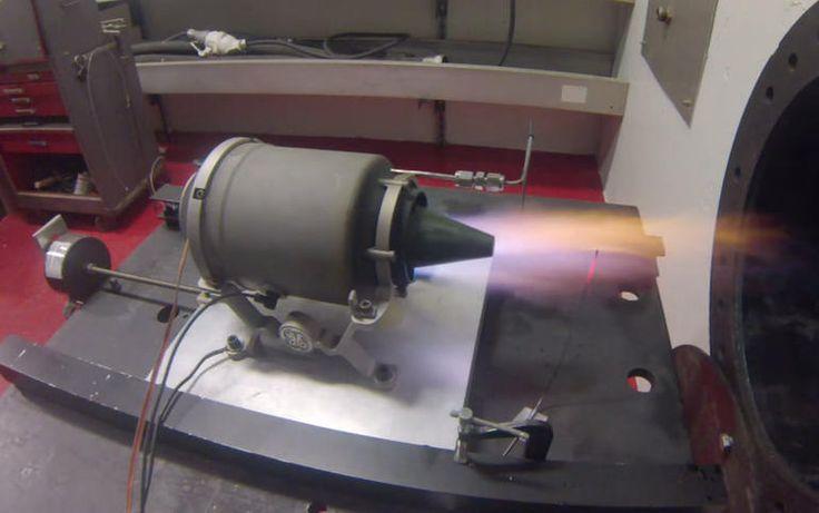 3D-printed mini jet engine revved up to 33,000rpm - CNET