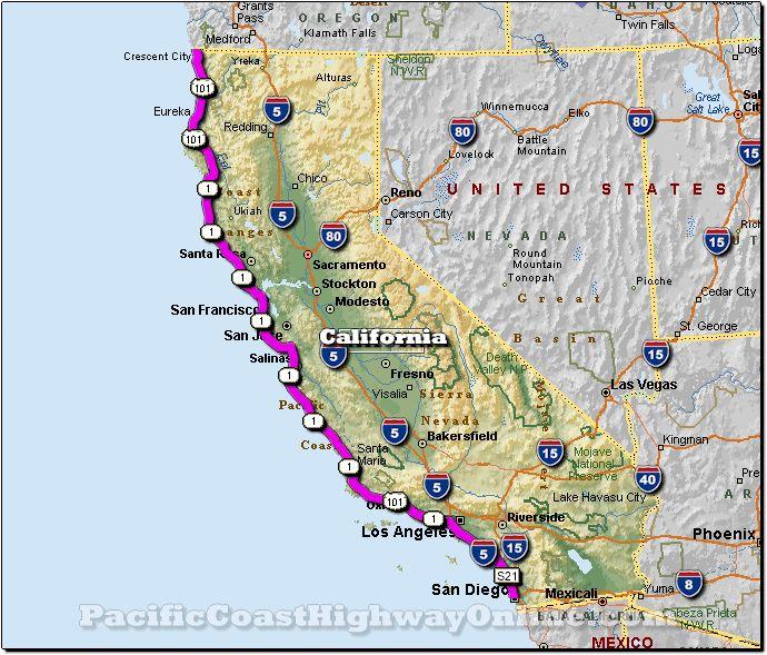 California Pacific Coast Highway Heres A Ride Id Like